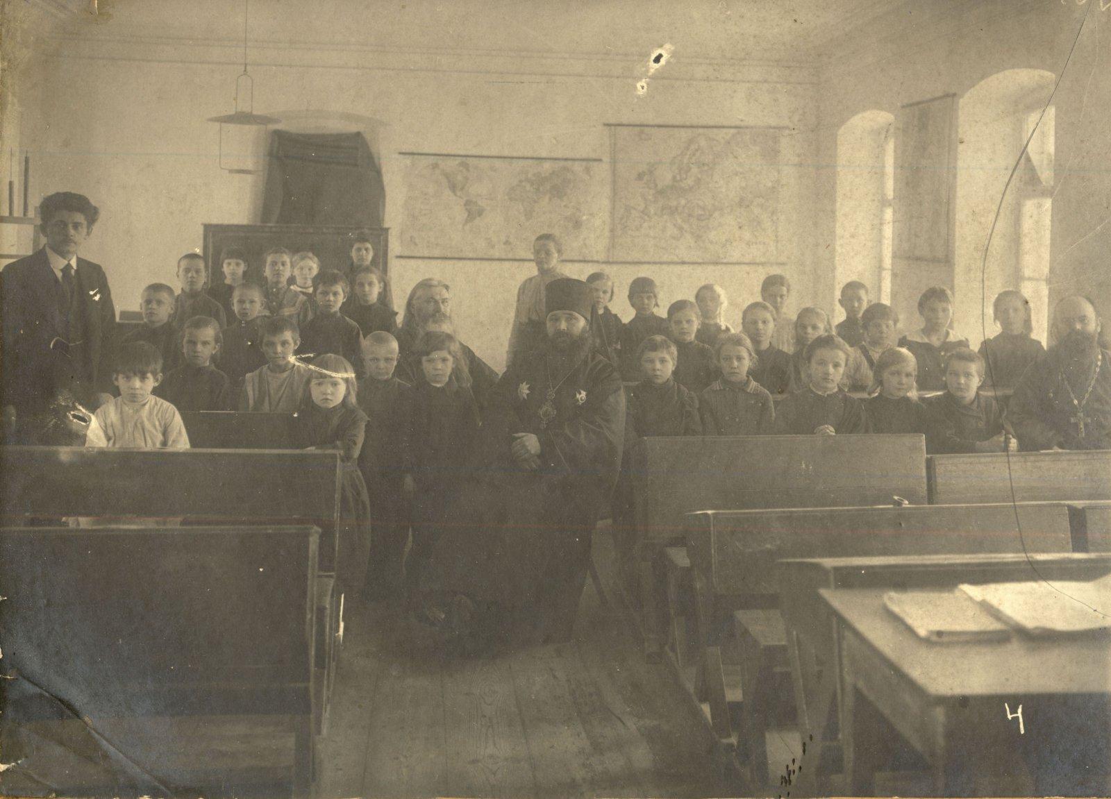 Церковно-приходские классы гродненской губернии